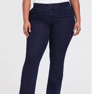 Torrid Premium Trouser Slim Boot Size 24 NWT